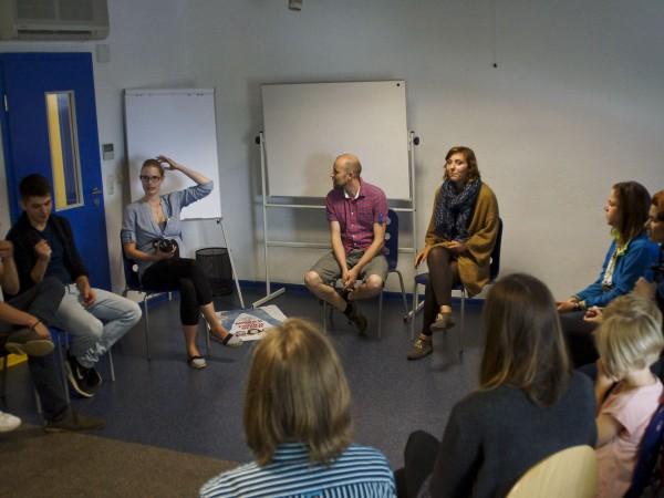 Workshop, Wir zeigen's Euch! beim Filmfest Wismar